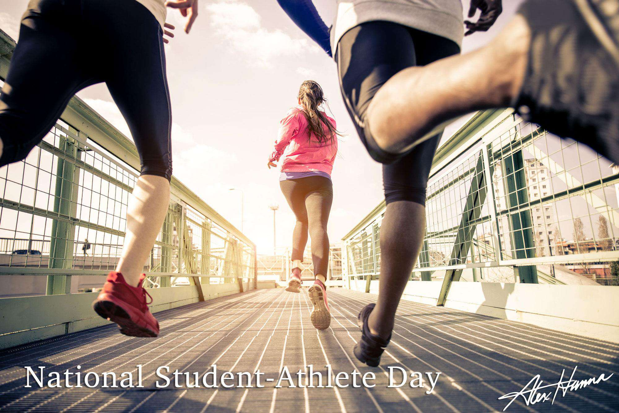 National Student-Athlete Day Wishes for Instagram