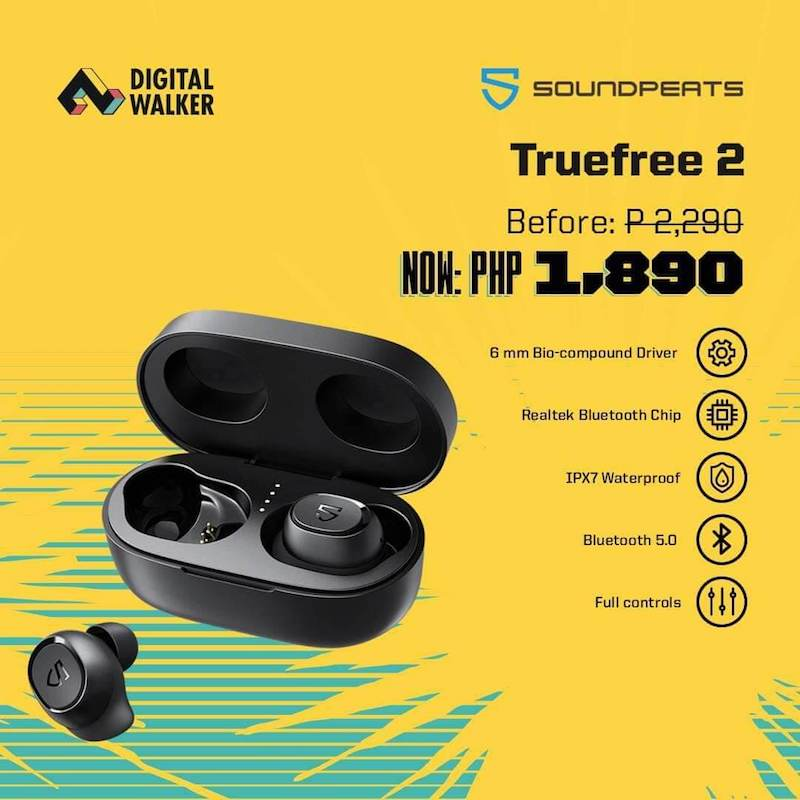 SoundPEATS Truefree 2 and Truengine 3 SE arrives in PH, sale starts at PHP 1,890!