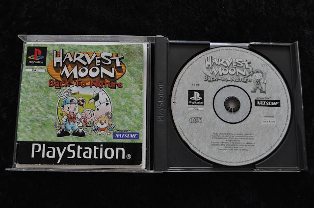 harvest moon playstation cd
