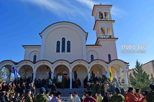 Ναύπλιο: Με δυο Θείες Λειτουργίες ο εορτασμός του πολιούχου Αγίου Αναστασίου