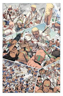 Comics - White Sand: le jour où le destin de Kenton bascule
