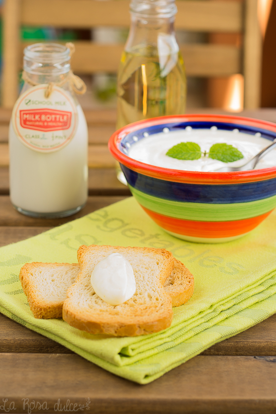 Cómo hacer lactonesa | mahonesa sin lactosa y sin huevo | la Rosa dulce