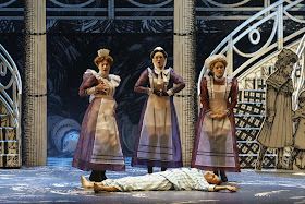 Mozart: The Magic Flute - Katharina Magiera, Marta Fontanals-Simmons, Esther Dierkes, David Portillo - Glyndebourne (Photo Glyndebourne Productions Ltd. / Bill Cooper)