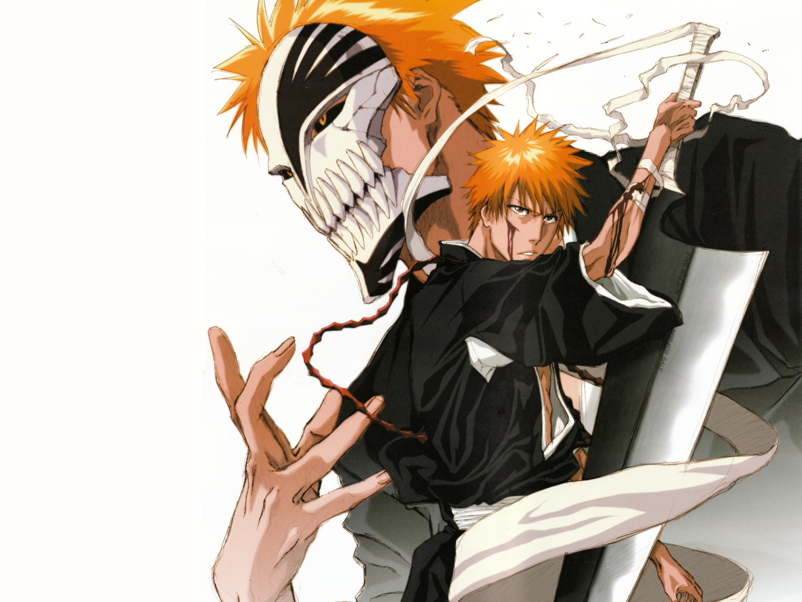 I watched the Bleach anime first, and I heard that the continuation is only in the manga. So if it's possible, I'd like to know which chapter corresponds to the end.