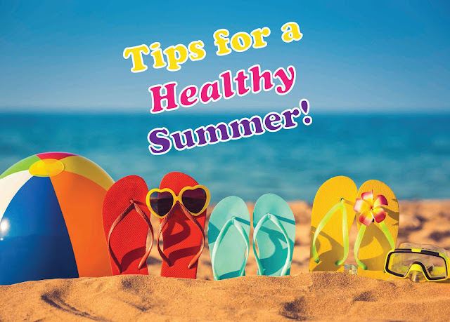 Top 5 tips to stay healthy in this summer