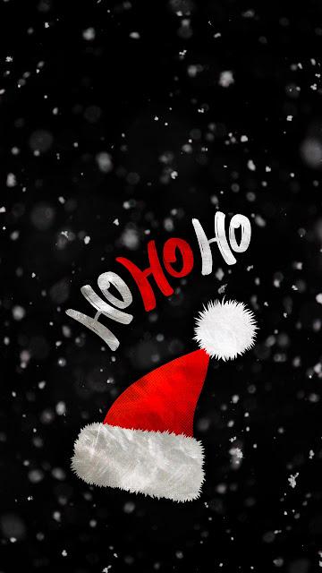ho ho ho christmas wallpaper mobile hd