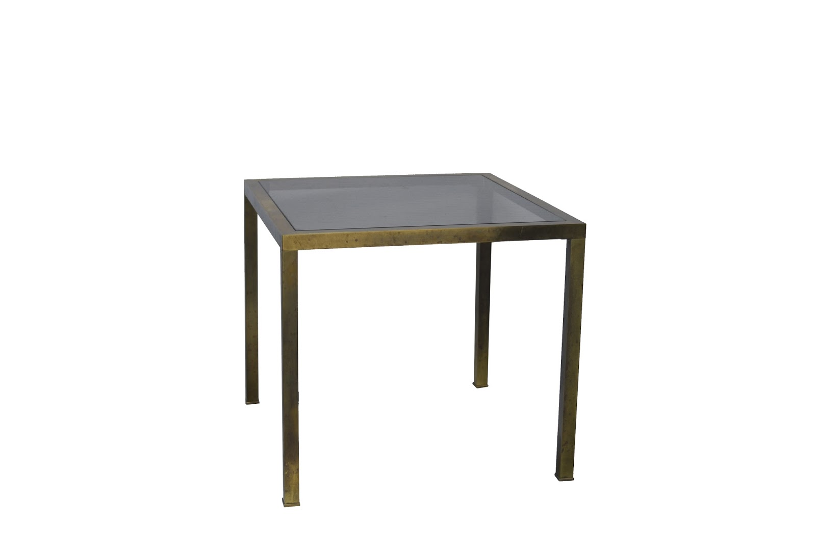 Gancemania mobiliario siglo xx y l mparas fase interior - Mesa auxiliar dorada ...