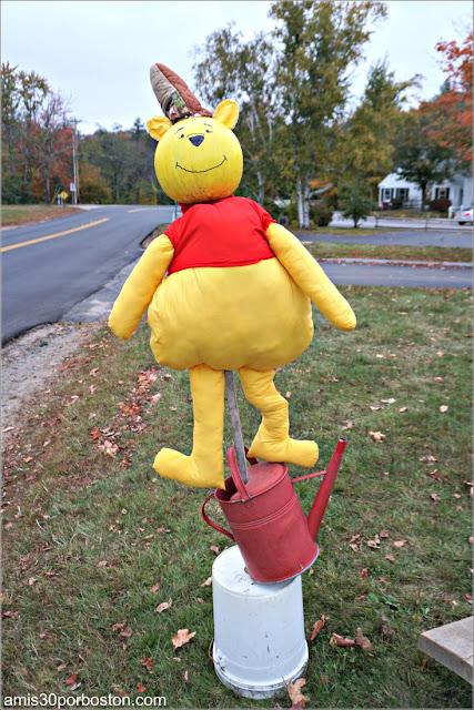 Winnie the Pooh en el Return of the Pumpkin People de Jackson en New Hampshire