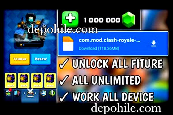 Clash Royale v3.5.0 Sınırsız Elmas Hileli Mod Apk 2021