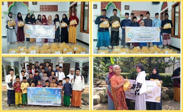 Yayasan Ibnu Tholib Al Anwar Sambut Tahun Baru Hijriah Dengan Khotmil Qur'an dan Bakti Sosial