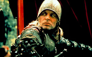 Klaus Kinski caracterizado como Don Lope de Aguirre en Aguirre, la cólera de Dios. Tecnoculturas.com