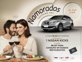 Promoção Shopping ABC Dia dos Namorados 2019 Concorra Nissan Kicks
