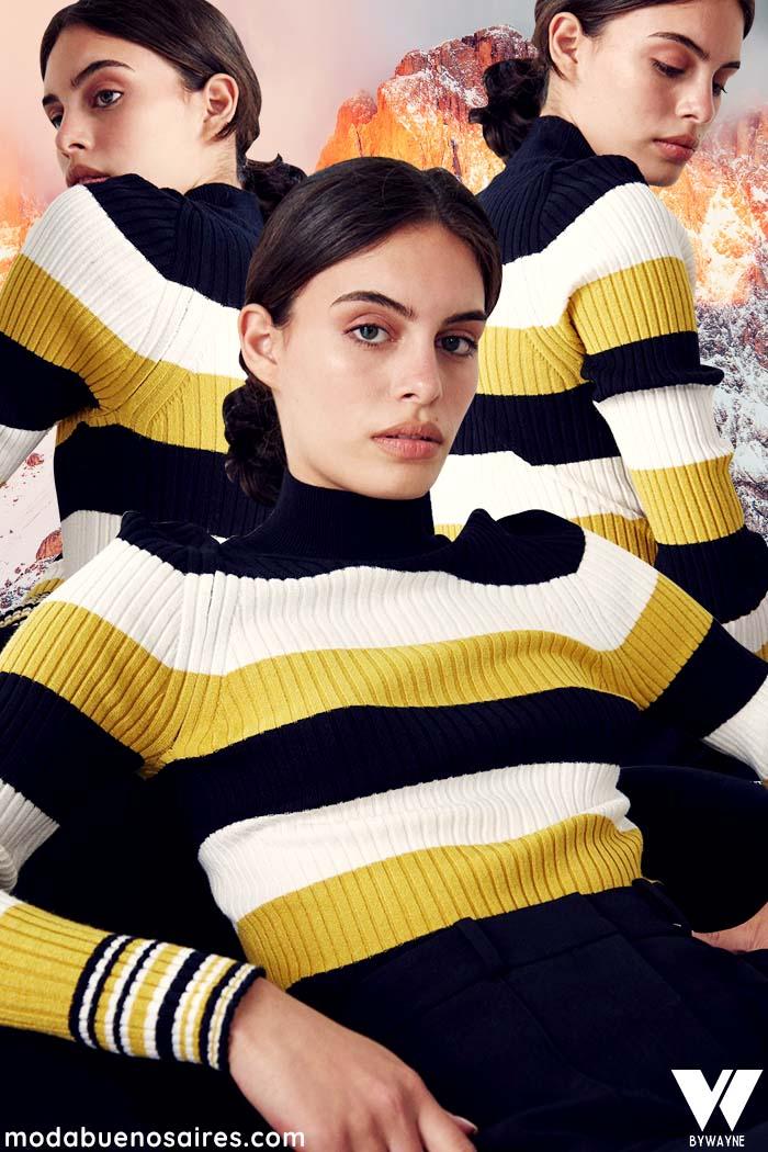 ropa de mujer invierno 2021 tejidos de moda