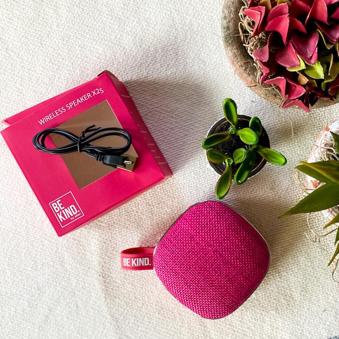 Be Kind by Ellen Bluetooth Travel Speaker