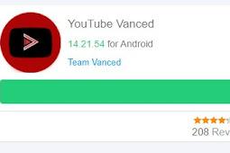 Download Youtube Vanced Apk terbaru di Android