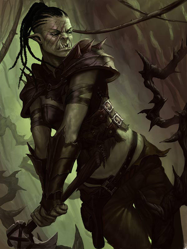 Tao of D&D's Wiki: Half-orc Race & Physiology