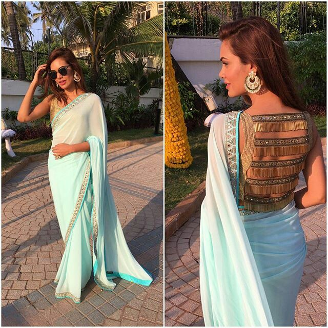 latest saree blouse designs front and back top 30 trendy designs