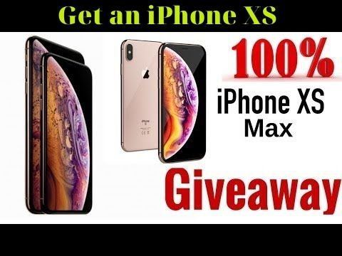 Get an Click here to get your  iPhone XS