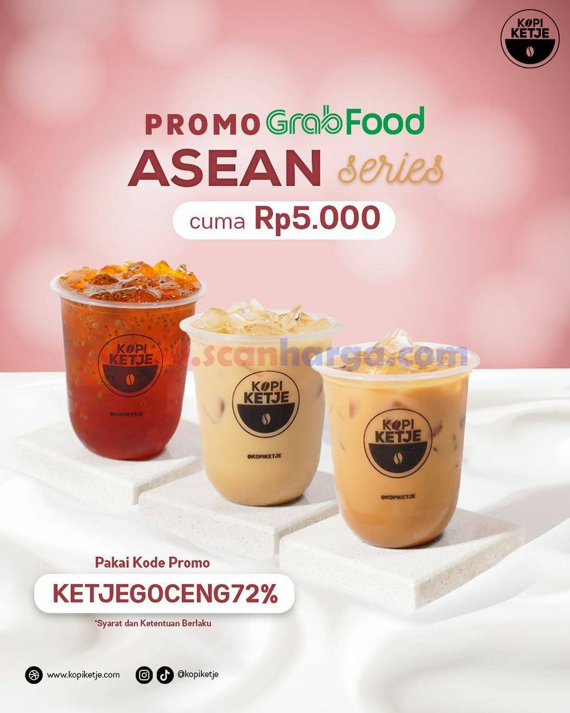 Promo Kopi Ketje Spesial GRABFOOD Asean Series Hanya Rp 5.000