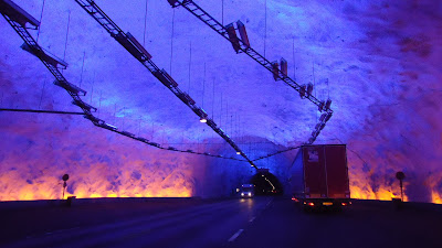 Imagen de Laerdal, el túnel más largo del mundo