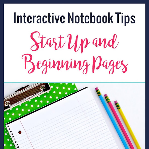 Interactive Notebook Setup Mrs E Teaches Math