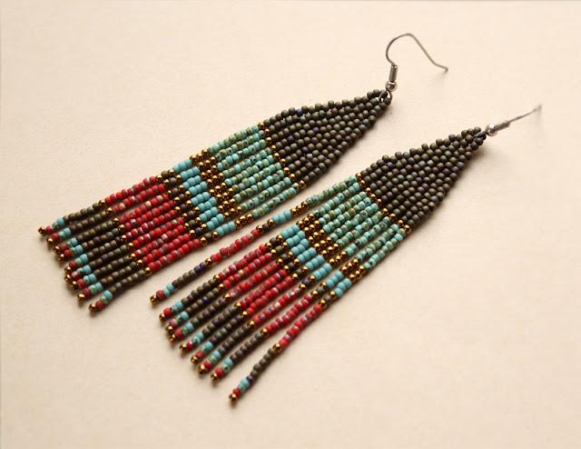 современный этно стиль купить этническую бижутерию ручной работы