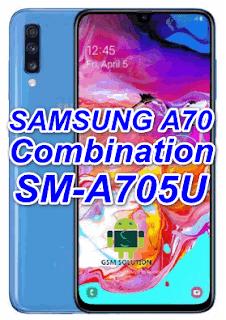 Samsung A70 SM-A705U Pie Combination FirmwareStockromFlashfile Download