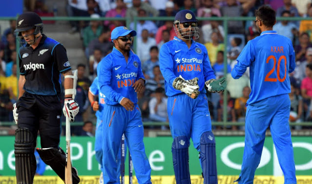 India vs NZ 3rd ODI Full Scorecard 2016