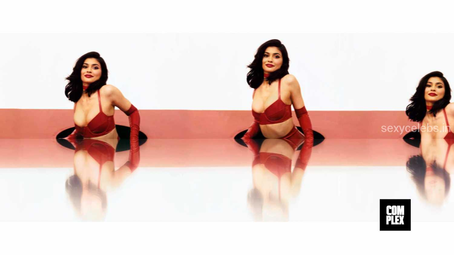 Sexy Kylie Jenner Beautiful Slutty Huge ass and Topless Kylie Jenner Naughty Pics from Complex Magazine Octo 2016