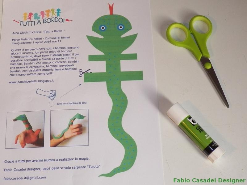 Marionetta dita per i bambini