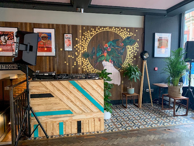 Wilson's Social DJ Booth Area
