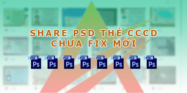 Share PSD thẻ CCCD chưa fix MỚI