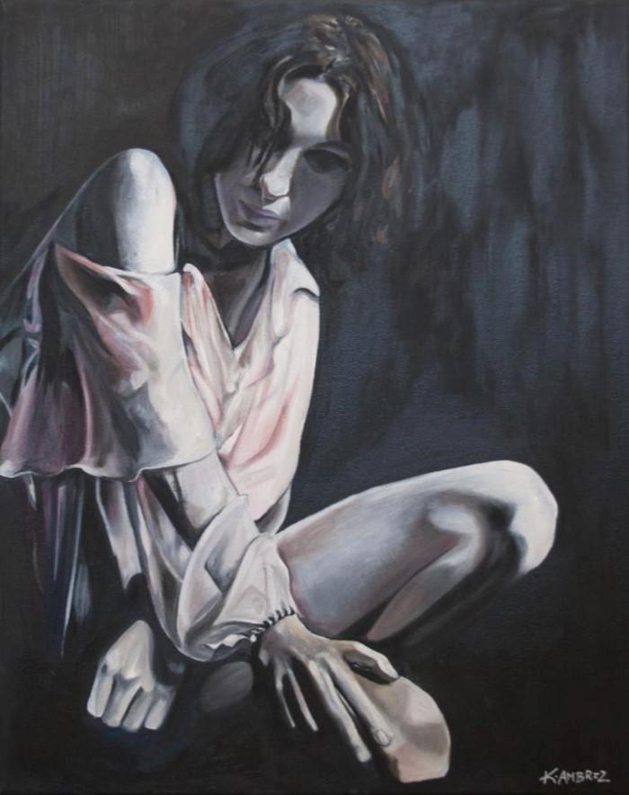 Женские портреты и фигуративные картины