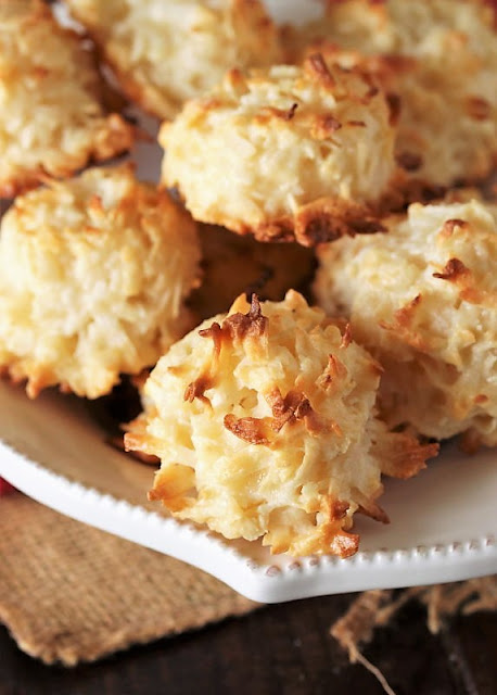 Toasted Coconut Macaroons Image