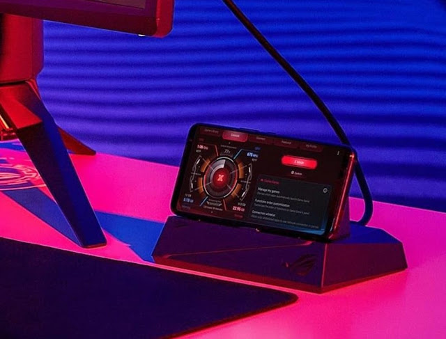 Sambungkan ROG Phone ke Perangkat Lain