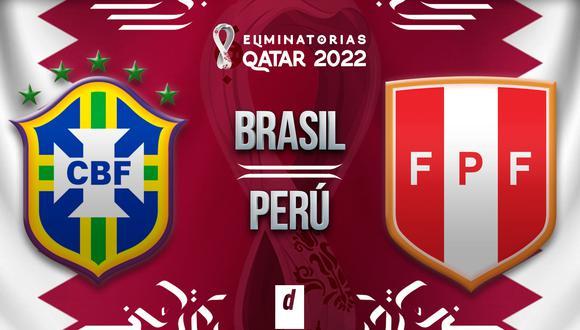 Perú vs. Brasil EN VIVO: links y canales para ver gratis el partido por internet