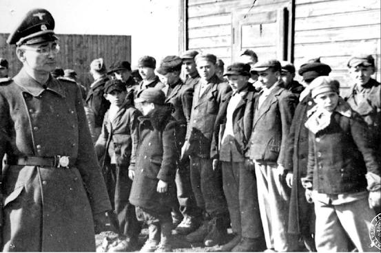 Germany Nazi Poland abuse books children slavery murder genocide eugenics crime war history books