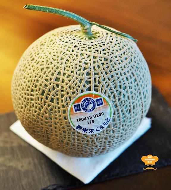 Japanese Musk Melon  - Kimi-Ya Japanese Restaurant New Menu 2018 Old Klang Road Kuala Lumpur