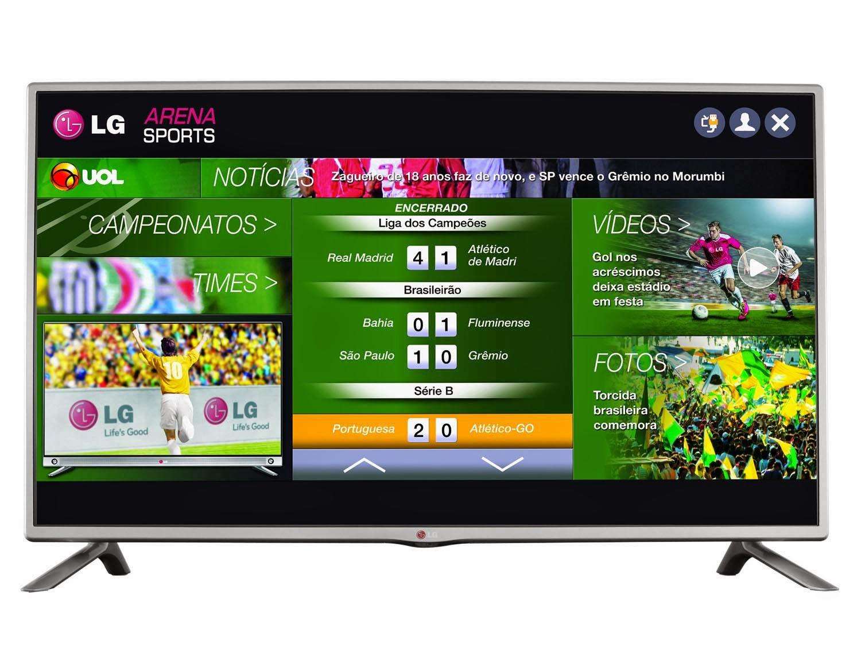 3903dd825 Smart TV LED 42