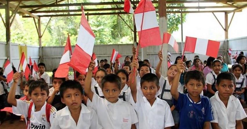 Cerca de 254 mil escolares iniciaron hoy sus clases en la DRE San Martín