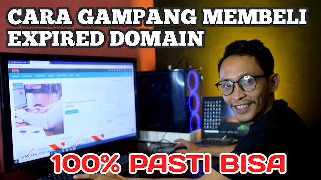 Cara mencari expired domain