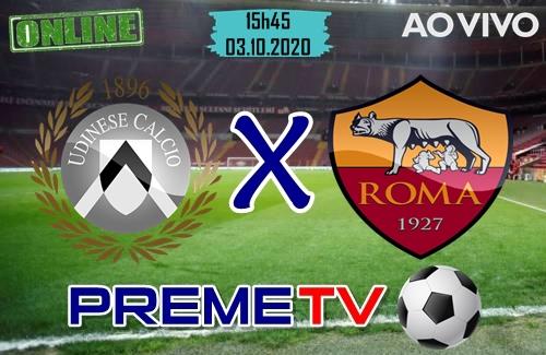 Udinese x Roma Hoje Ao Vivo