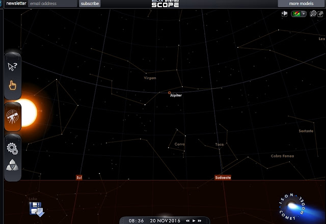 20 de novembro constelação