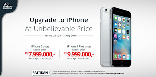 Harga Spesial iPhone 6 dan 6 Plus di Outlet Erafone