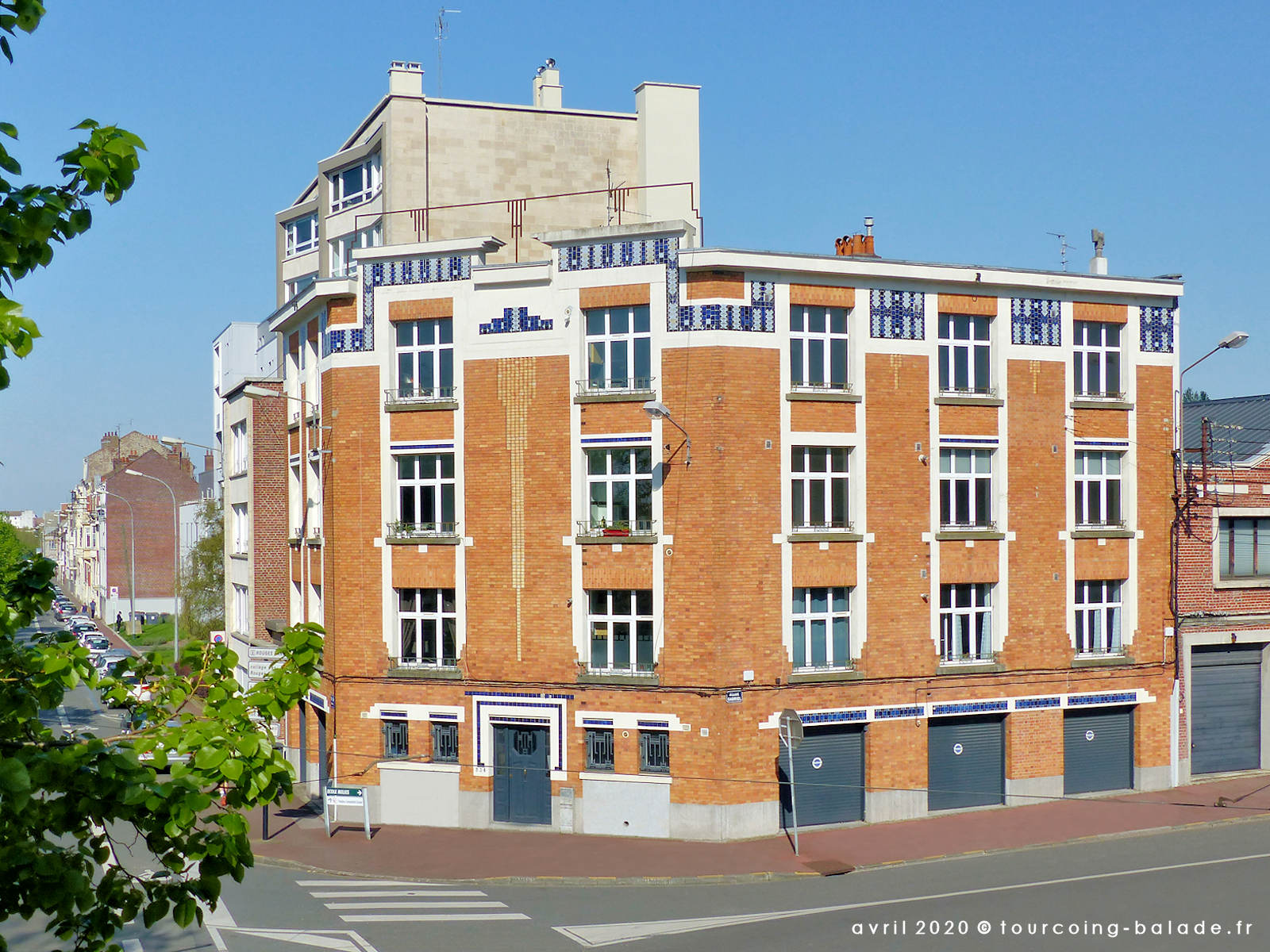 Architecture STyle Art Deco, Claquant Architecte, Marcq 2020
