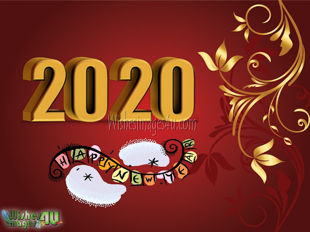 New Year 2020 Full HD Golden Images