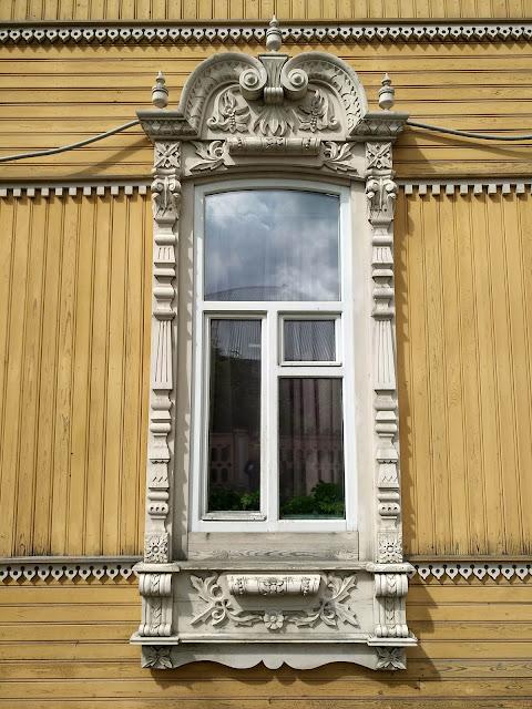 Томск, архитектура, достопримечательности, дом с жарптицами