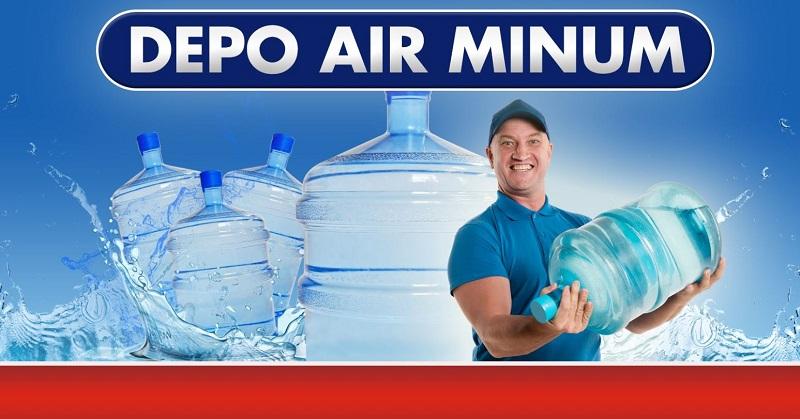 Spanduk Marketing Usaha Depo Air Minum