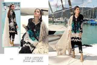 Shree Fab Sana Safinaz Premium Lawn 2 Pakistani Suits