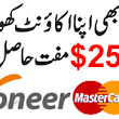 Payoneer MasterCard In Pakistan | Blogger Learned